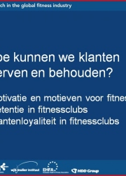 Powerpoint presentatie motivatie, retentie, loyalty
