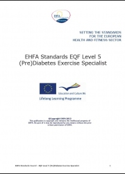 Pre diabetis exercise specialist level 5