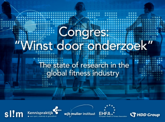 "Presentatie over ""effecten van fitnesstraining"" uit The State of Research in the Global Fitness Industry"