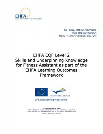 Fitness assistant standards level 2