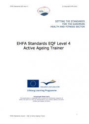 Active ageing trainer standards level 4