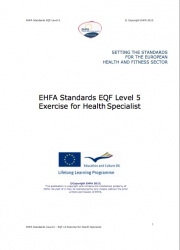 Exercise for health specialist standards level 5