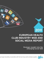European Health Club Industry Web and Social Media Report