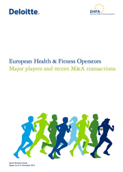 European Health & Fitness Operators Report 0