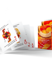 Fit and Fun playing cards